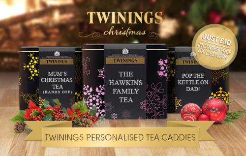 Twinnings Tea CaddiesTea