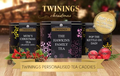 Twinnings Tea CaddiesTea
