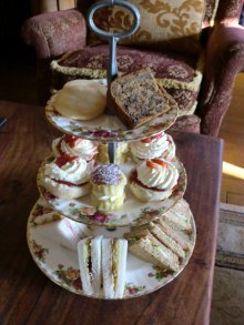 Broadoaks afternoon tea