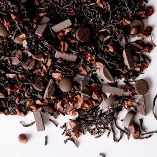 Chocolate tea