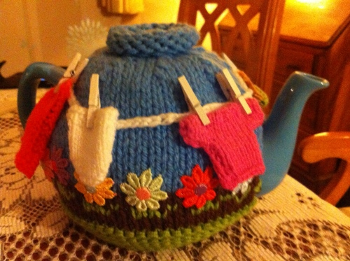 Tea pot cover