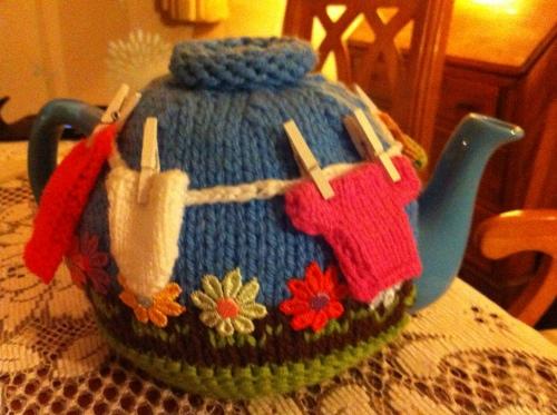 Tea pot cover