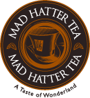 logo mad hatters tea