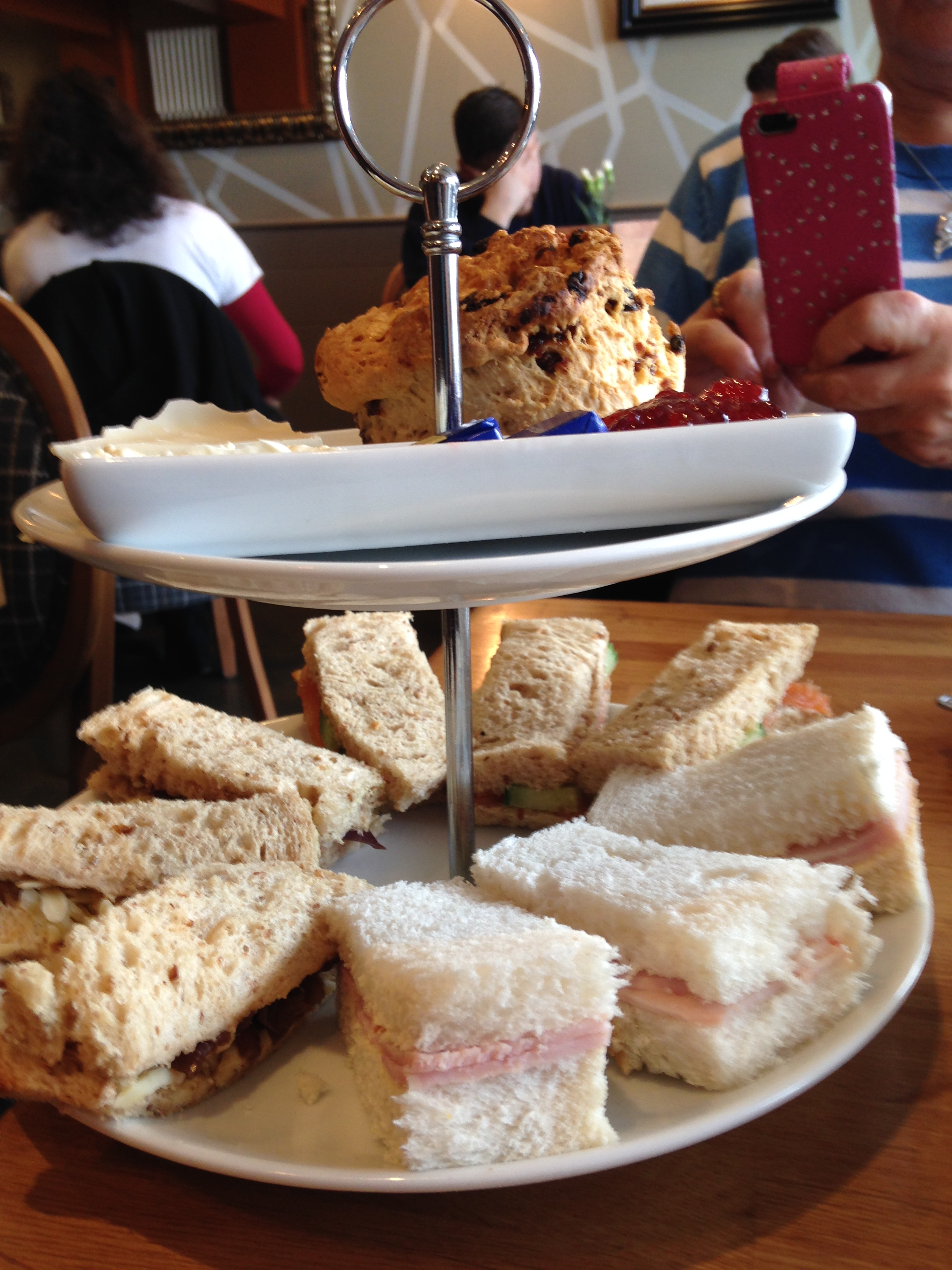 What s your favourite sandwich filling afternoon tea 4 for Club sandwich fillings for high tea