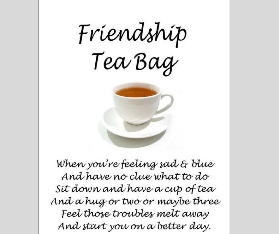 FRIENDSHIP TEA BAG… | AFTERNOON TEA 4 TWO…