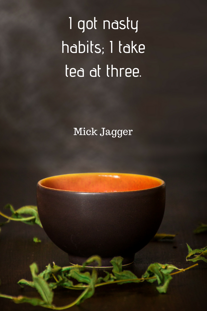 5 TEA QUOTES BY CELEBRITIES… | AFTERNOON TEA 4 TWO…
